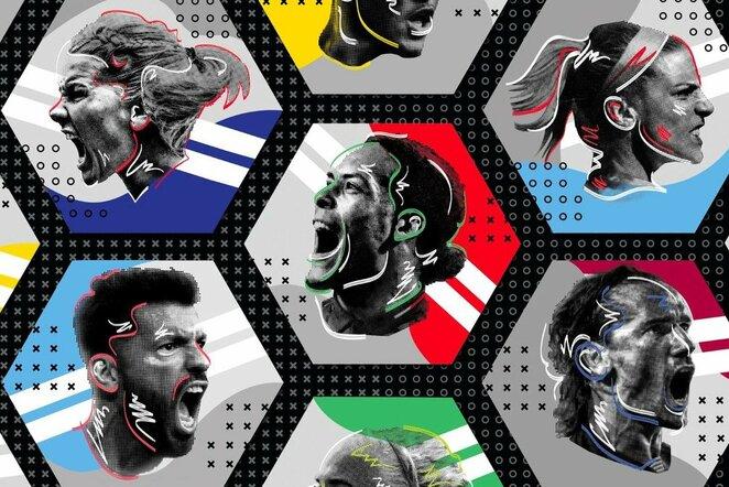 Geriausi futbolininkai | Organizatorių nuotr.