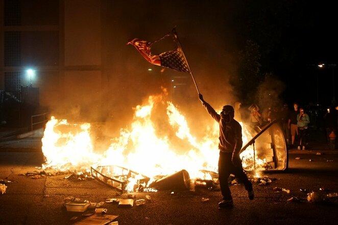 Protestai JAV   Scanpix nuotr.