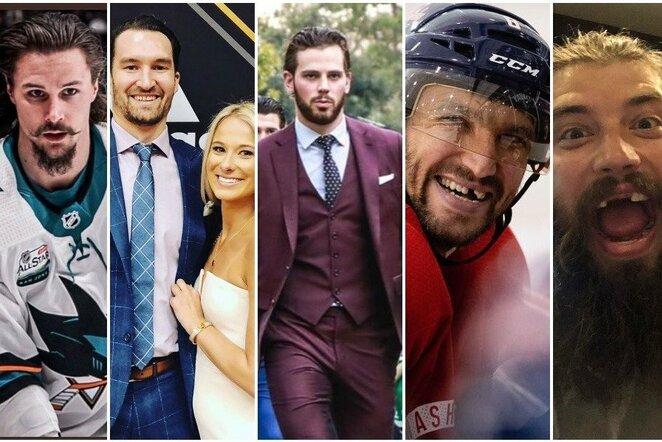 Daugiausiai uždirbantys NHL žaidėjai   Instagram.com nuotr