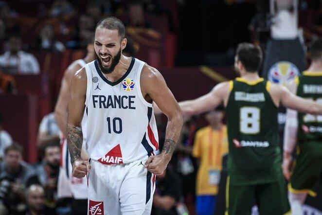 Prancūzija – Australija rungtynių akimirka | FIBA nuotr.