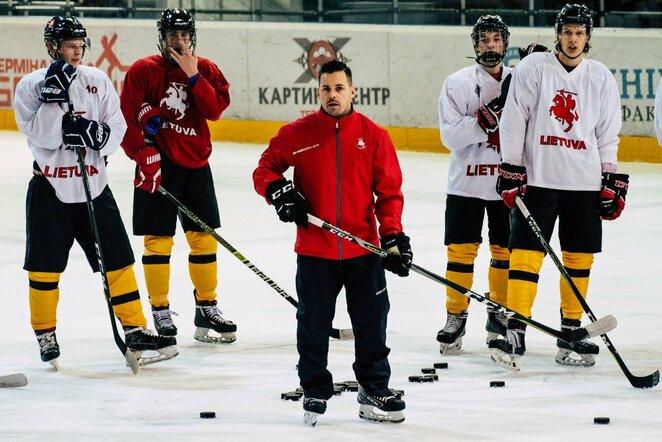 Lietuvos jaunimo ledo ritulio rinktinė   hockey.lt nuotr.