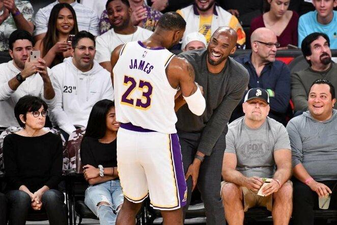 LeBronas ir Kobe | Scanpix nuotr.