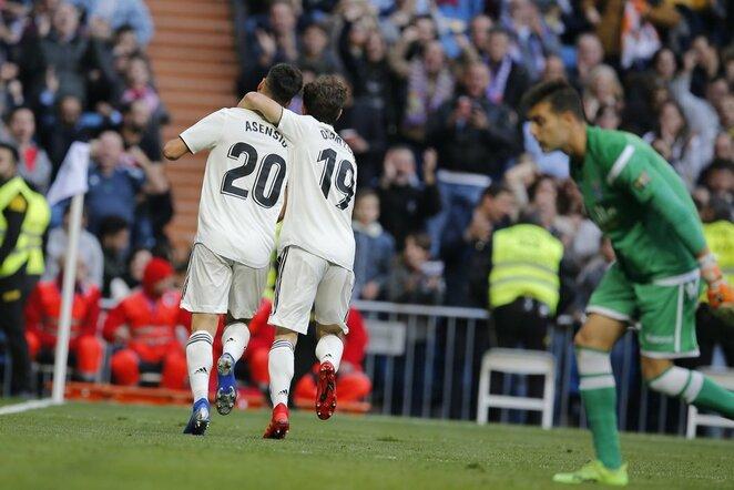 """Real"" – ""Melilla"" rungtynių akimirka  | Scanpix nuotr."
