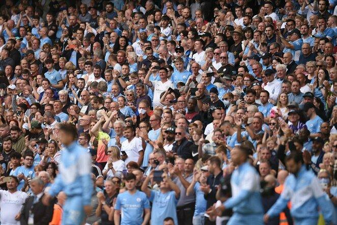 """Manchester City"" sirgaliai | Scanpix nuotr."