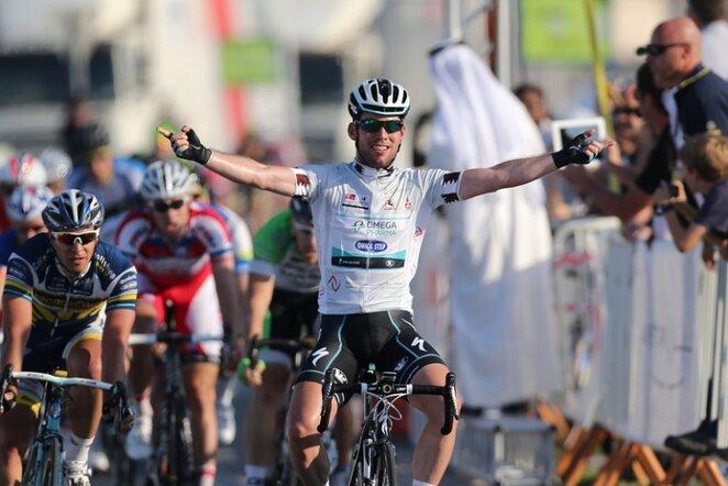 Markas Cavendishas (priekyje) | AFP/Scanpix nuotr.