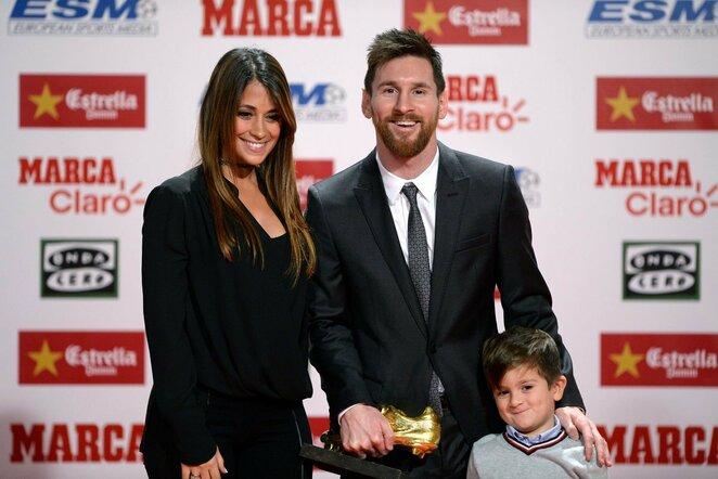 """L.Messi ketvirtą kartą laimėjo """"Auksinio batelio"""" apdovanojimą   Scanpix nuotr."""