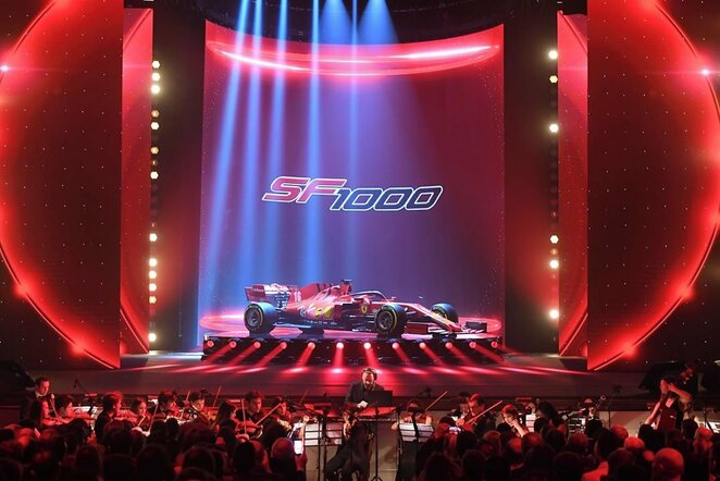 """Ferrari SF1000"" | Instagram.com nuotr"