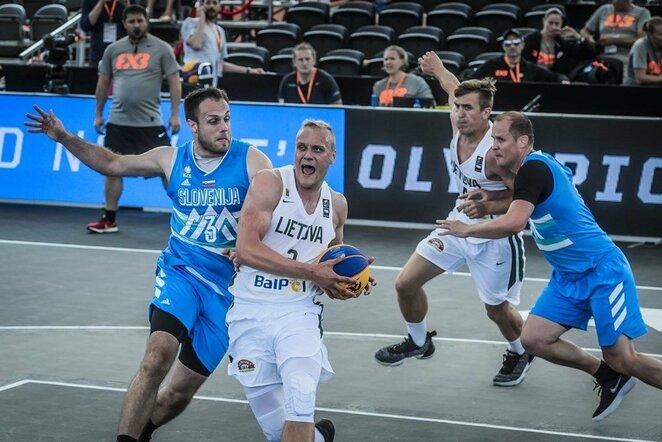 Lietuvių ir slovėnų rungtynės   FIBA nuotr.
