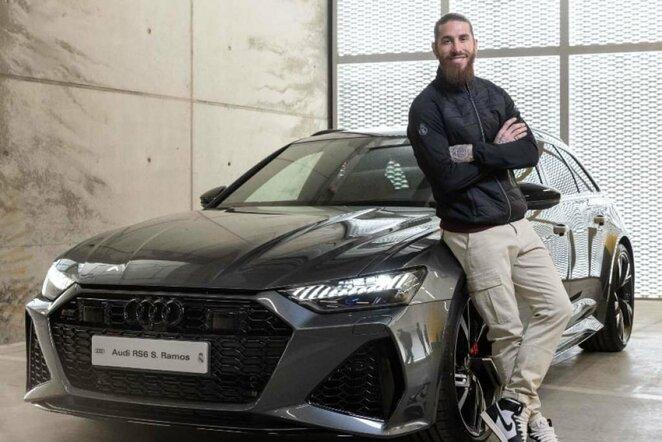 "Sergio Ramoso ""Audi RS6 Avant"" – 142,58 tūkst. eurų.   ""Twitter"" nuotr."