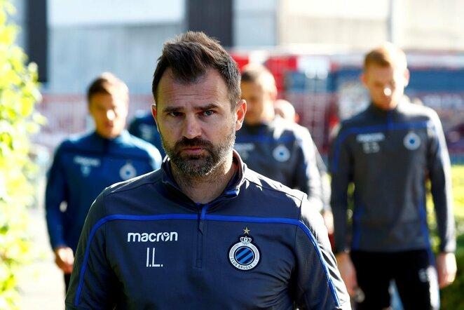 """Brugge"" komandos treneris   Scanpix nuotr."