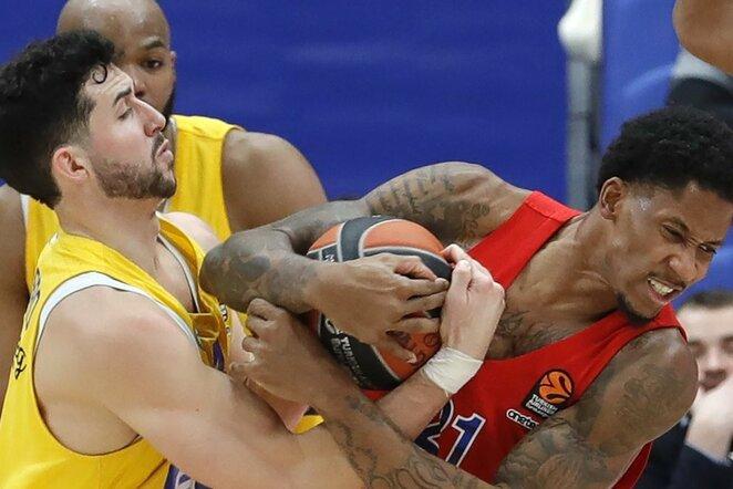 "CSKA - ""Maccabi"" rungtynių akimirka | Scanpix nuotr."