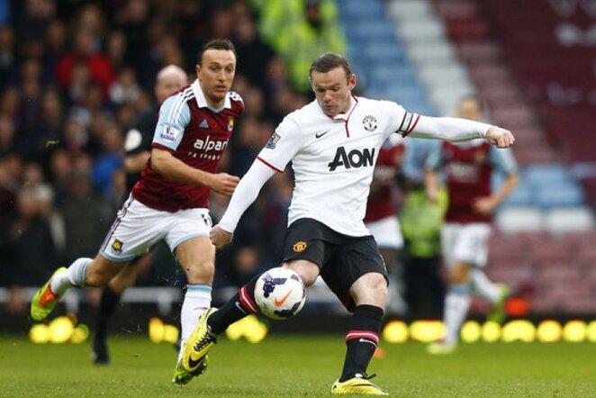 Wayne'as Rooney (deš.) | Reuters/Scanpix nuotr.