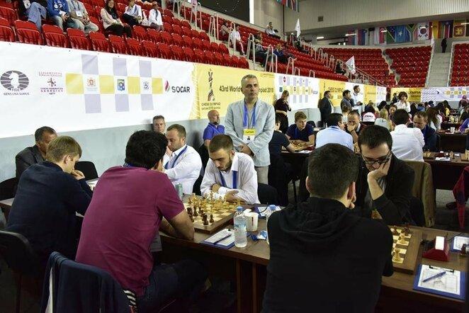 Šachmatų olimpiada | Organizatorių nuotr.