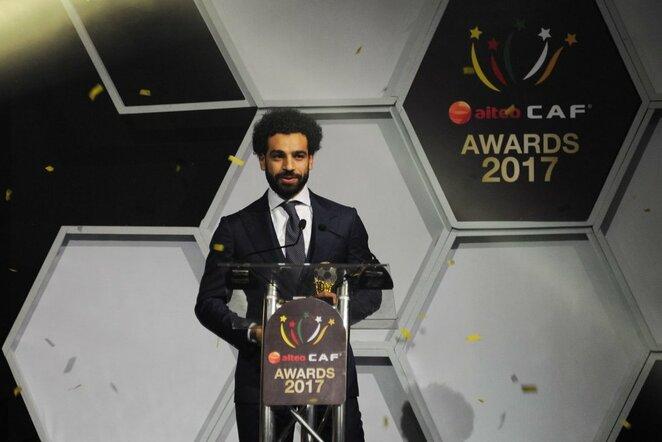 M.Salah pripažintas geriausiu Afrikos futbolininku   Scanpix nuotr.