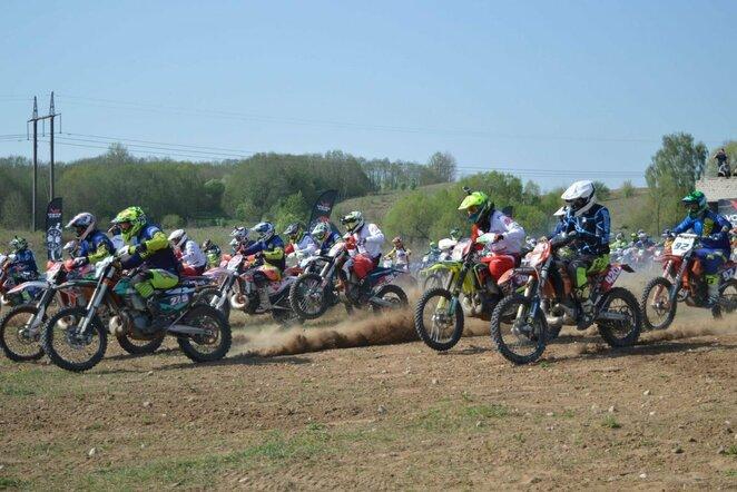 Motociklų lenktynės   Organizatorių nuotr.