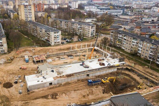 Kauno ledo arenos statybos   Organizatorių nuotr.