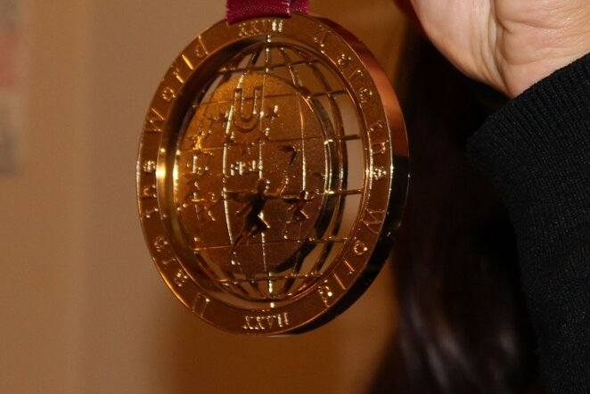 Universiados aukso medalis   Sportas.lt/Dominyko Genevičiaus nuotr.
