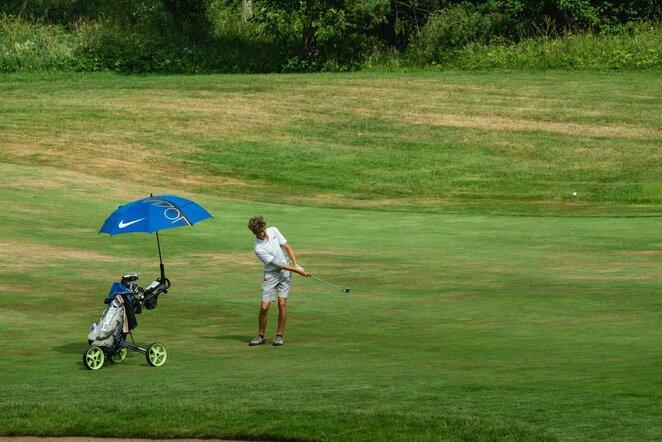 Golfas   Organizatorių nuotr.