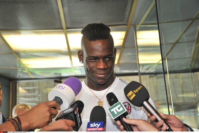 Mario Balotelli   Scanpix nuotr.
