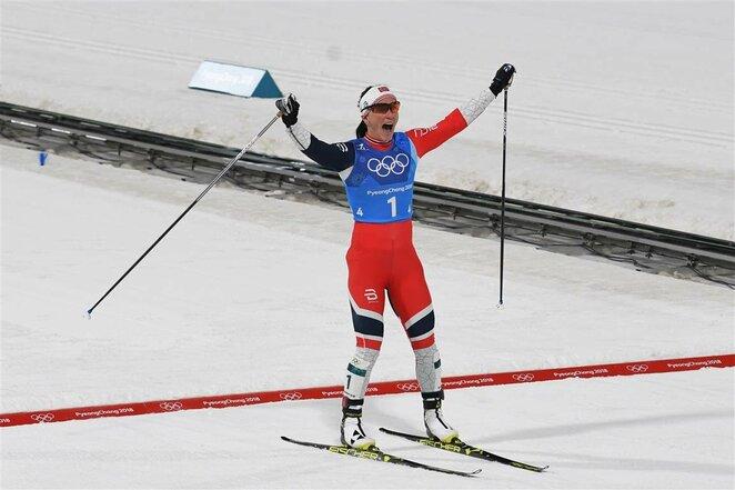 Moterų 4x5 km slidinėjimo estafetė | Scanpix nuotr.