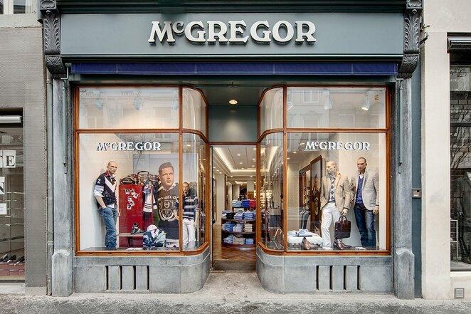 """""""McGregor"""" parduotuvė Olandijoje   Organizatorių nuotr."""