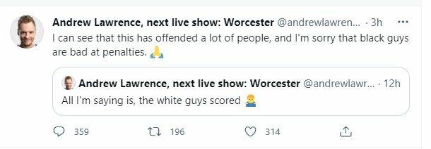 "Nevykęs pokštas   ""Twitter"" nuotr."