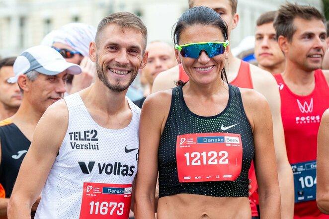Olimpiečiai Remigijus Kančys ir Diana Lobačevskė | Augusto Didžgalvio nuotr.