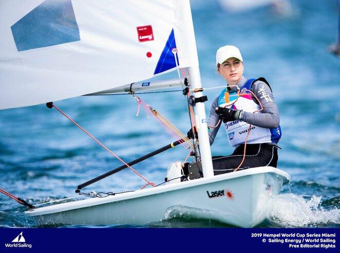 """Viktorija Andrulytė (""""Sailing Energy"""" nuotr.)   Organizatorių nuotr."""