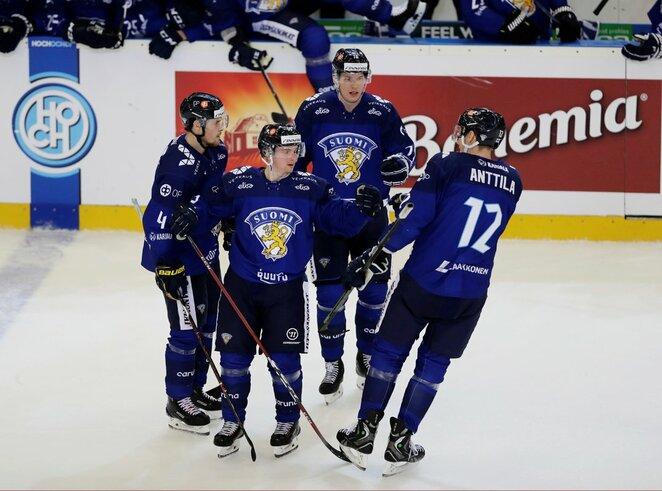 Suomijos ledo ritulio rinktinė | Scanpix nuotr.