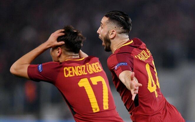 """UEFA Čempionų lygos ketvirtfinalis: """"Roma"""" - """"Barcelona"""" (2018.04.10)   Scanpix nuotr."""