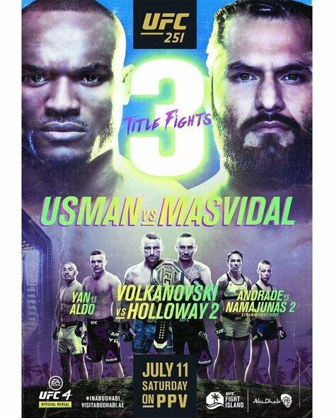 UFC251 | Organizatorių nuotr.