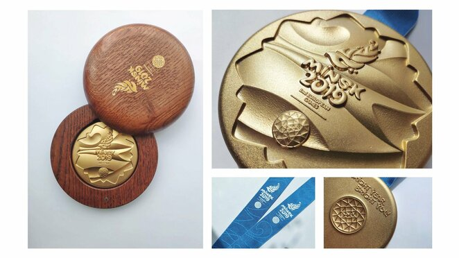 Europos žaidynių medaliai   Organizatorių nuotr.