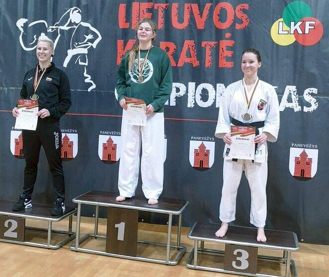 Lietuvos olimpinės karatė čempionatas | Organizatorių nuotr.