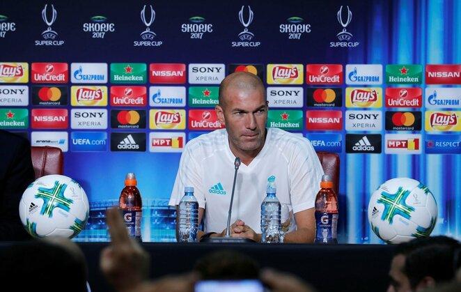Zinedine Zidane   Scanpix nuotr.
