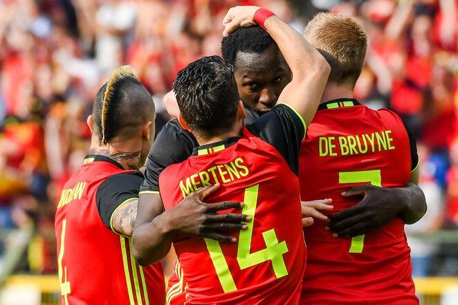 Belgijos futbolo rinktinė | Scanpix nuotr.