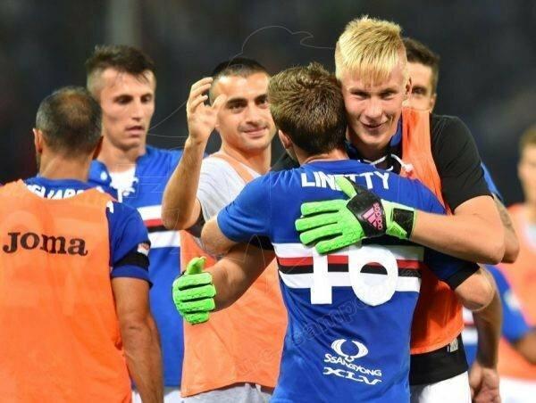 Titas Krapikas | sampdoria.it nuotr.