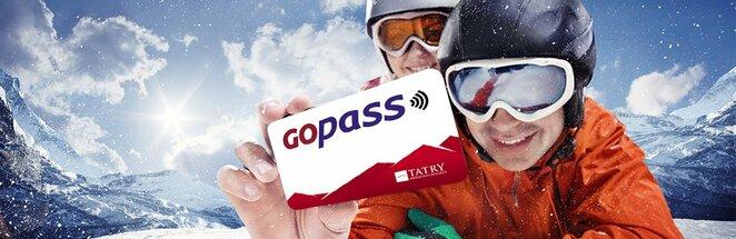 """GoPass"" kortele | Organizatoriu nuotr."