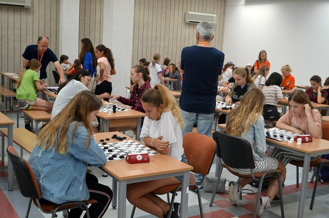 Europos jaunimo šaškių čempionatas Vilniuje | Organizatorių nuotr.
