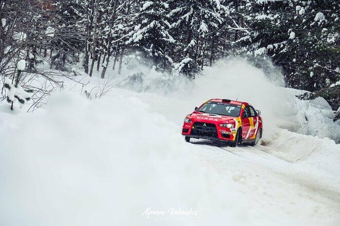 Žiemos ralio treniruotė | Alfonso Rakausko nuotr.