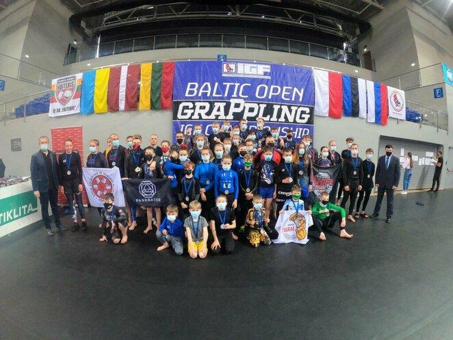 Baltijos graplingo čempionatas   Organizatorių nuotr.