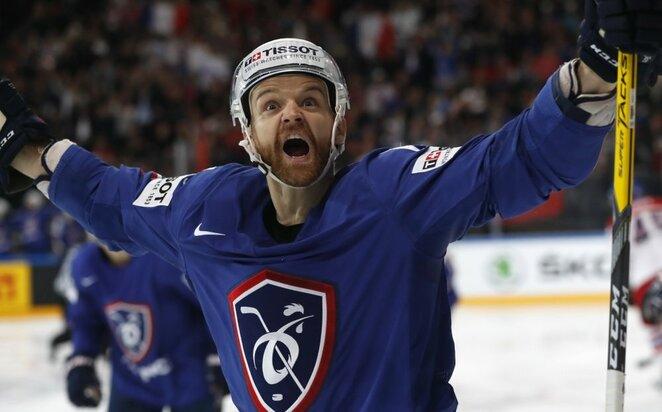 Čekijos ir Prancūzijos rinktinių rungtynės | Scanpix nuotr.