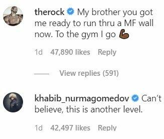 Komentarai šalia M.Tysono įrašo   Instagram.com nuotr