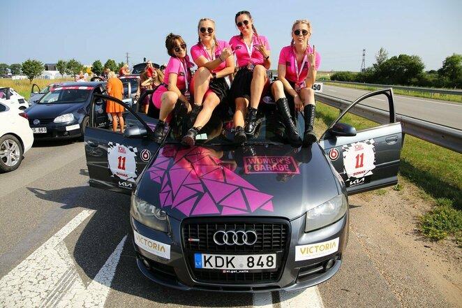 """Women`s Garage"" komanda | Organizatorių nuotr."