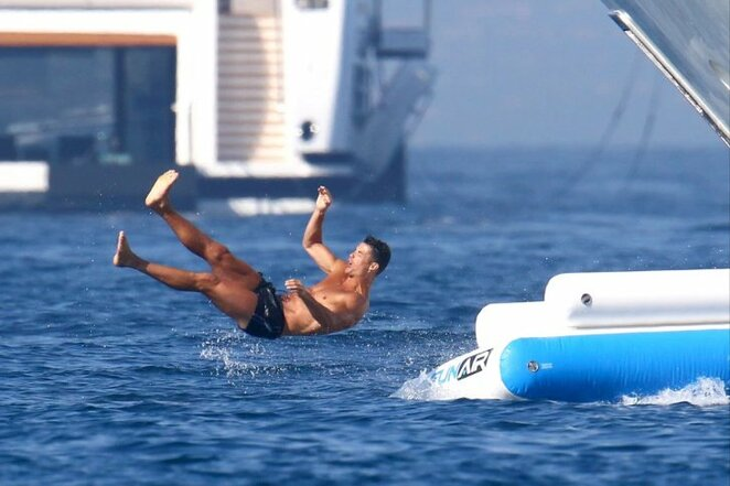 C.Ronaldo atostogos | Organizatorių nuotr.