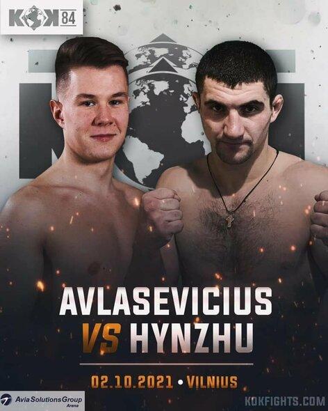 Raimondas Avlasevičius prieš Volodomyrą Hynzhu