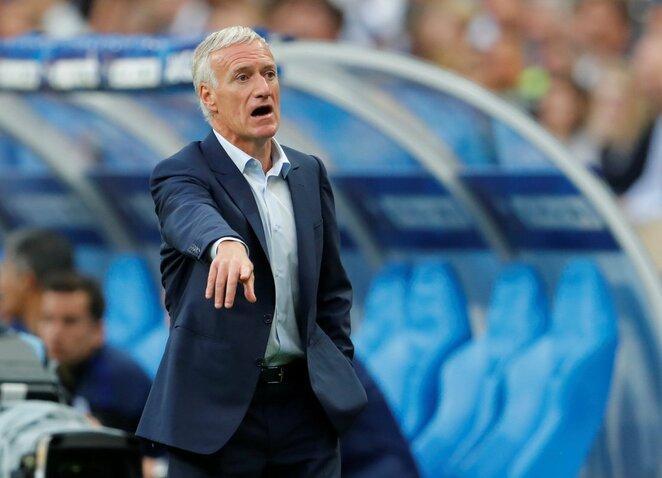 Didier Deschampsas   Scanpix nuotr.