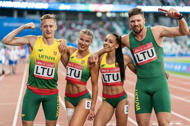 Europos žaidynių lengvosios atletikos varžybos | Vytauto Dranginio nuotr.