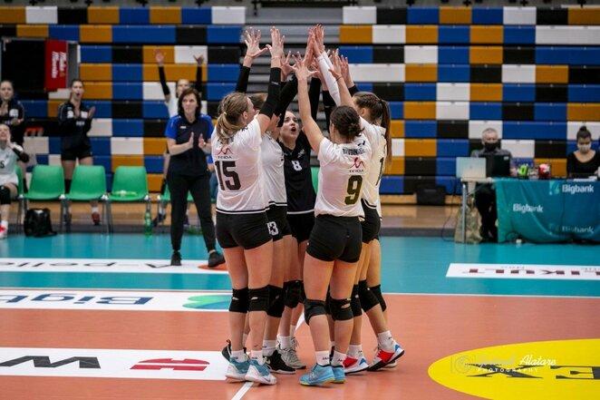 Baltijos moterų tinklinio lygos finalinis turnyras   Gertrud Alatare nuotr.