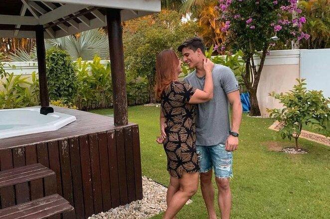 Nadine Santos su Thiago Ramosu | Instagram.com nuotr