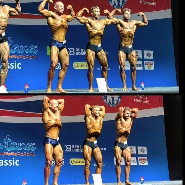 """IFBB """"Nordic Cup""""   Organizatorių nuotr."""